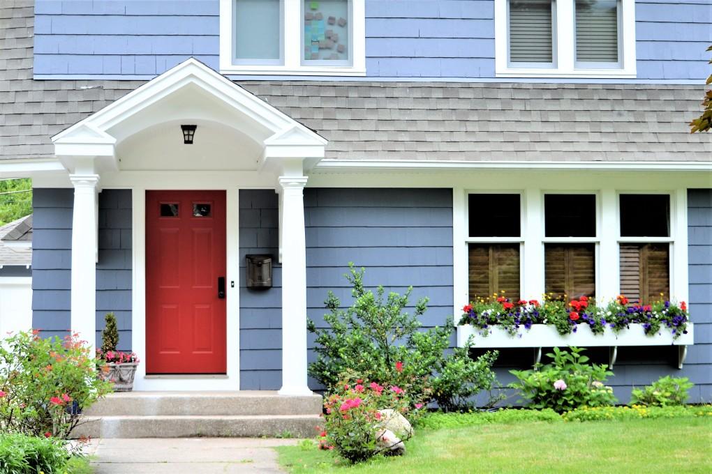 couleurs de portes d'entrée