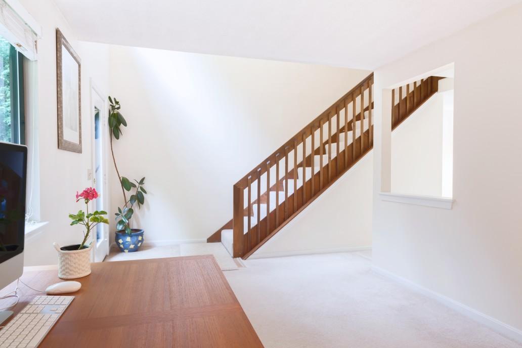 escalier simple maison