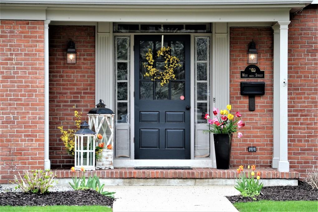 portes d'entrée de maison